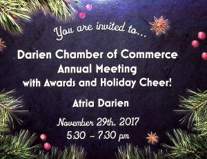 DCC Annual Meeting, Awards & Holiday Cheer! @ Atria Darien